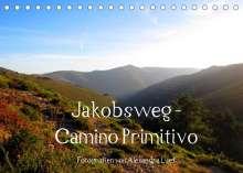 Alexandra Luef: Jakobsweg - Camino Primitivo (Tischkalender 2022 DIN A5 quer), Kalender