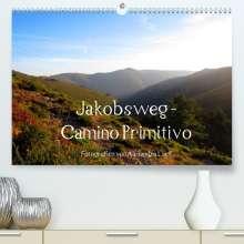 Alexandra Luef: Jakobsweg - Camino Primitivo (Premium, hochwertiger DIN A2 Wandkalender 2022, Kunstdruck in Hochglanz), Kalender