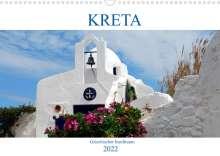 Peter Schneider: Kreta - Griechischer Inseltraum (Wandkalender 2022 DIN A3 quer), Kalender