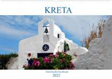 Peter Schneider: Kreta - Griechischer Inseltraum (Wandkalender 2022 DIN A2 quer), Kalender