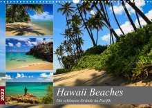 Florian Krauss - Www. Lavaflow. De: Hawaii Beaches - Die schönsten Strände im Pazifik (Wandkalender 2022 DIN A3 quer), Kalender