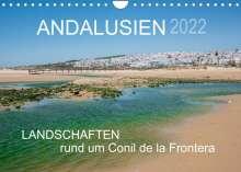 Doris Müller: Andalusien - Landschaften rund um Conil de la Frontera (Wandkalender 2022 DIN A4 quer), Kalender