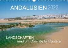 Doris Müller: Andalusien - Landschaften rund um Conil de la Frontera (Wandkalender 2022 DIN A3 quer), Kalender