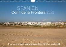 Doris Müller: Conil de la Frontera - Ein traumhaftes andalusisches Dorf am Atlantik (Wandkalender 2022 DIN A4 quer), Kalender