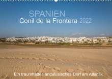 Doris Müller: Conil de la Frontera - Ein traumhaftes andalusisches Dorf am Atlantik (Wandkalender 2022 DIN A2 quer), Kalender