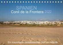 Doris Müller: Conil de la Frontera - Ein traumhaftes andalusisches Dorf am Atlantik (Tischkalender 2022 DIN A5 quer), Kalender