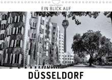 Markus W. Lambrecht: Ein Blick auf Düsseldorf (Wandkalender 2022 DIN A4 quer), Kalender