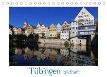 Klaus-Peter Huschka: Tübingen bildhaft (Tischkalender 2022 DIN A5 quer), Kalender