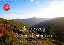 Alexandra Luef: Jakobsweg - Camino Primitivo (Wandkalender 2022 DIN A3 quer), Kalender