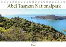 André Tams: Abel Tasman Nationalpark (Tischkalender 2022 DIN A5 quer), Kalender