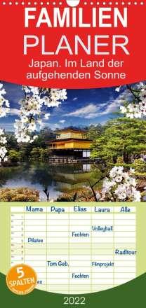 Elisabeth Stanzer: Japan. Im Land der aufgehenden Sonne (Wandkalender 2022 , 21 cm x 45 cm, hoch), Kalender