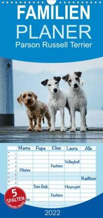 Kathrin Köntopp: Parson Russell Terrier (Wandkalender 2022 , 21 cm x 45 cm, hoch), Kalender