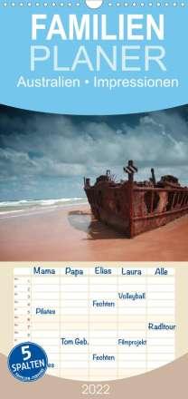 Elisabeth Stanzer: Australien . Impressionen (Wandkalender 2022 , 21 cm x 45 cm, hoch), Kalender