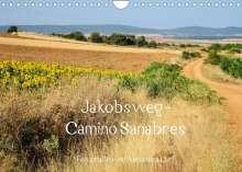 Alexandra Luef: Jakobsweg - Camino Sanabres (Wandkalender 2022 DIN A4 quer), Kalender
