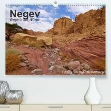 Gabriele Rechberger: NEGEV Wege in der Wüste (Premium, hochwertiger DIN A2 Wandkalender 2022, Kunstdruck in Hochglanz), Kalender