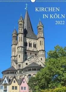 sell@Adobe Stock: Kirchen in Köln (Wandkalender 2022 DIN A3 hoch), Kalender