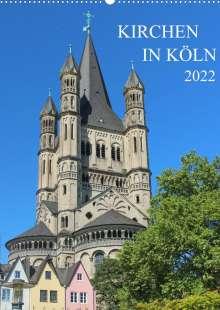 sell@Adobe Stock: Kirchen in Köln (Wandkalender 2022 DIN A2 hoch), Kalender
