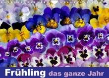Ulrike Gruch: Frühling das ganze Jahr (Wandkalender 2022 DIN A4 quer), Kalender