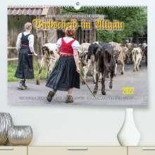 Ingo Gerlach: Viehscheid im Allgäu. (Premium, hochwertiger DIN A2 Wandkalender 2022, Kunstdruck in Hochglanz), Kalender