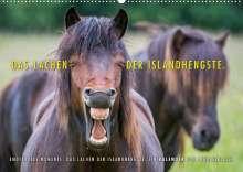 Ingo Gerlach: Das Lachen der Islandhengste. (Wandkalender 2022 DIN A2 quer), Kalender