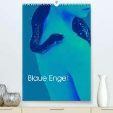 Eike Winter: Blaue Engel (Premium, hochwertiger DIN A2 Wandkalender 2022, Kunstdruck in Hochglanz), Kalender