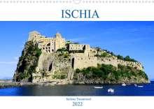 Peter Schneider: Ischia - Italiens Trauminsel (Wandkalender 2022 DIN A3 quer), Kalender