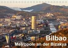 Thomas Seethaler: Bilbao. Metropole an der Biskaya. (Tischkalender 2022 DIN A5 quer), Kalender