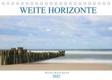 Heike Hoffmann: Weite Horizonte (Tischkalender 2022 DIN A5 quer), Kalender