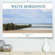 Heike Hoffmann: Weite Horizonte (Premium, hochwertiger DIN A2 Wandkalender 2022, Kunstdruck in Hochglanz), Kalender