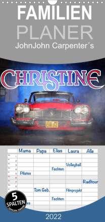 Stefan Bau: John Carpenter´s Christine - Familienplaner hoch (Wandkalender 2022 , 21 cm x 45 cm, hoch), Kalender
