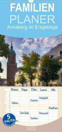 Matthias Bellmann: Annaberg im Erzgebirge (Wandkalender 2022 , 21 cm x 45 cm, hoch), Kalender