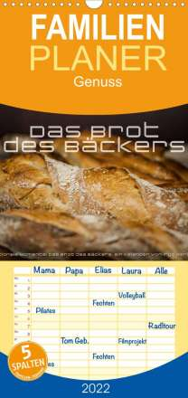 Ingo Gerlach: Emotionale Momente: Das Brot des Bäckers. (Wandkalender 2022 , 21 cm x 45 cm, hoch), Kalender