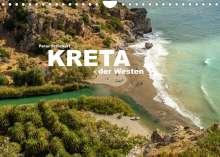 Peter Schickert: Kreta - der Westen (Wandkalender 2022 DIN A4 quer), Kalender