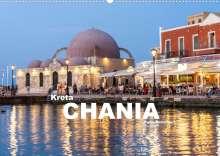 Peter Schickert: Kreta - Chania (Wandkalender 2022 DIN A2 quer), Kalender