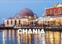 Peter Schickert: Kreta - Chania (Tischkalender 2022 DIN A5 quer), Kalender