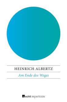 Heinrich Albertz: Am Ende des Weges, Buch