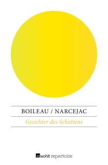Pierre Boileau: Gesichter des Schattens, Buch