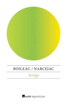 Pierre Boileau: Vertigo, Buch