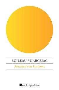 Pierre Boileau: Abschied von Lucienne, Buch