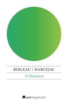 Pierre Boileau: 13 Stationen, Buch