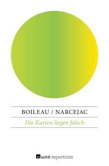 Pierre Boileau: Die Karten liegen falsch, Buch