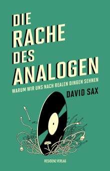 David Sax: Die Rache des Analogen, Buch