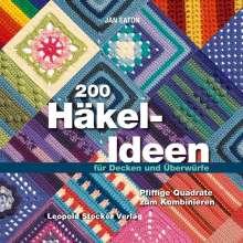 Jan Eaton: 200 Häkel-Ideen für Decken und Überwürfe, Buch
