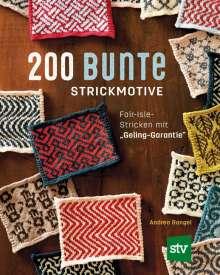 Andrea Rangel: 200 bunte Strickmotive, Buch