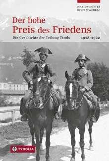 Stefan Wedrac: Der hohe Preis des Friedens, Buch