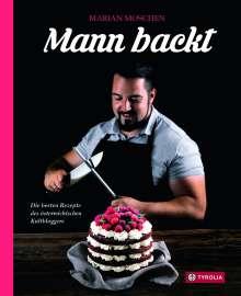 Marian Moschen: Mann backt, Buch