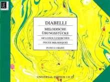 Anton Diabelli: Melodische Übungsstücke, Noten