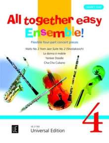 James Rae: All together easy Ensemble!, Buch