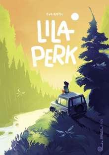 Eva Roth: Lila Perk, Buch