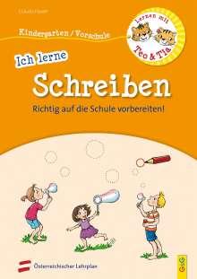 Claudia Haider: Lernen mit Teo und Tia - Ich lerne Schreiben - Kindergarten/Vorschule, Buch